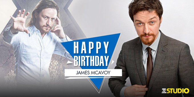 Here\s wishing James McAvoy a very happy birthday! Send in your wishes soon!