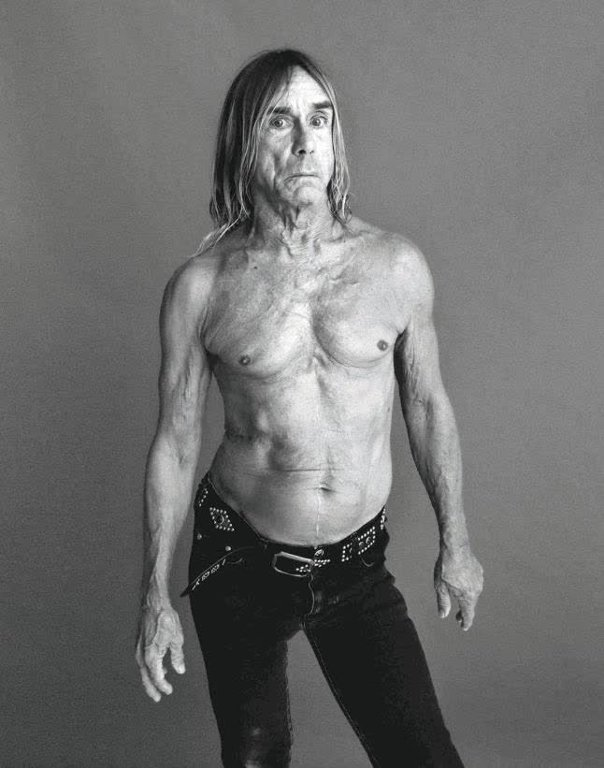 Avui el gran IGGY POP en fa 70! Happy Birthday!