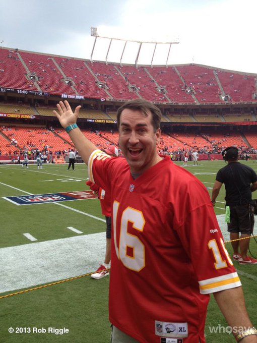 Happy Birthday to Rob Riggle who turns 47 today!