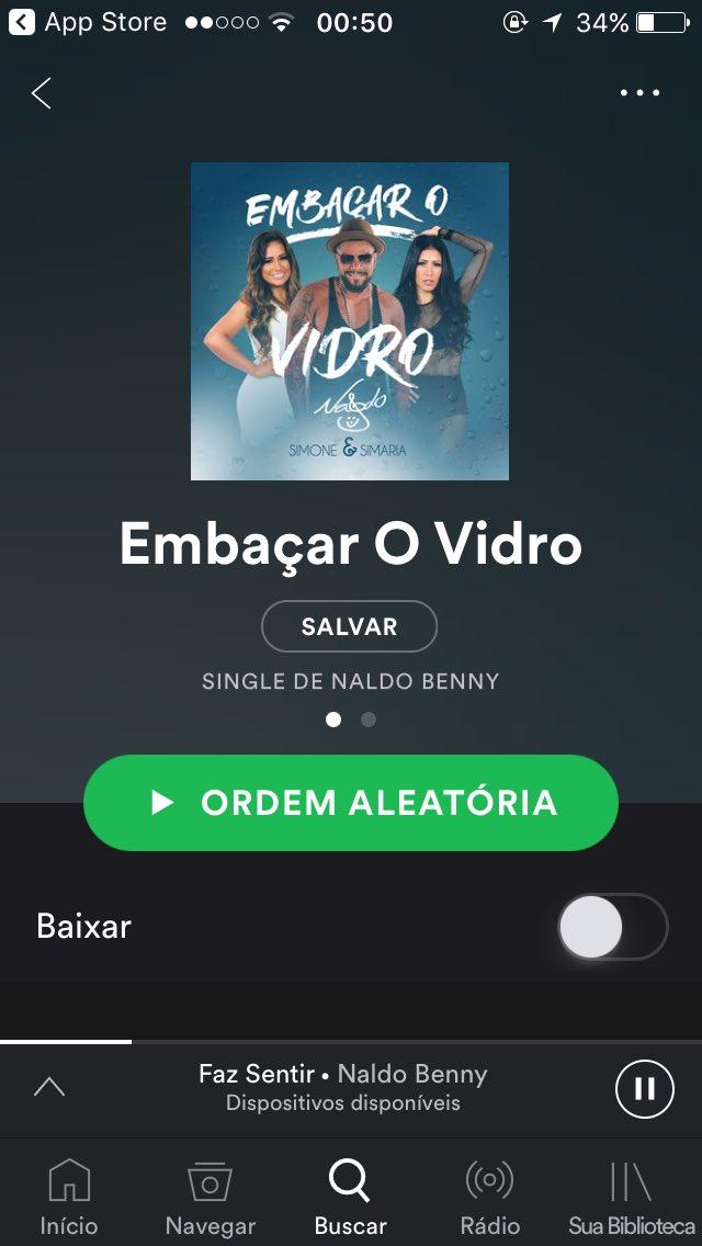 #EmbaçarOvidro