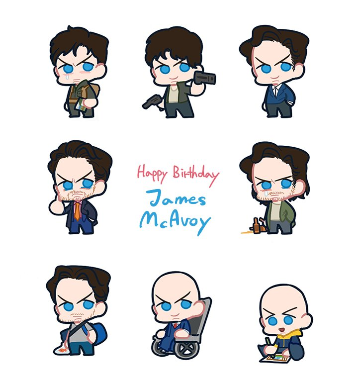 4/21       ! Happy Birthday James McAvoy 6(   )9