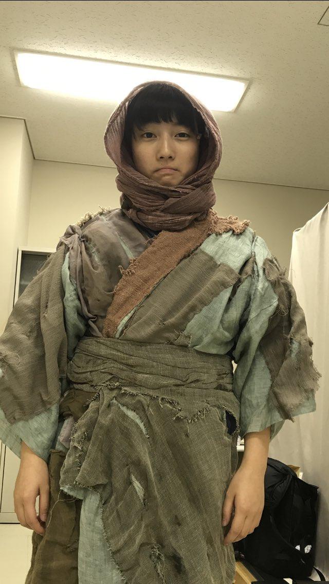 【#川島鈴遥】舞台「里見八犬伝」観て下さった方々、観る予定の方々、ありがとうございます。犬村大角が出てくるところで父親を