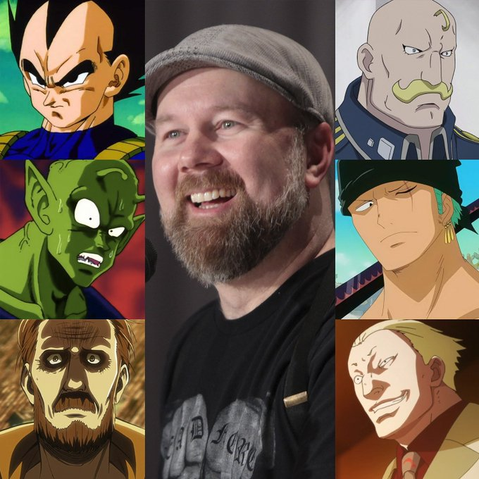 Happy birthday to the voice of Vegeta, Christopher Sabat! May your celebrations be... OVER 9,000!