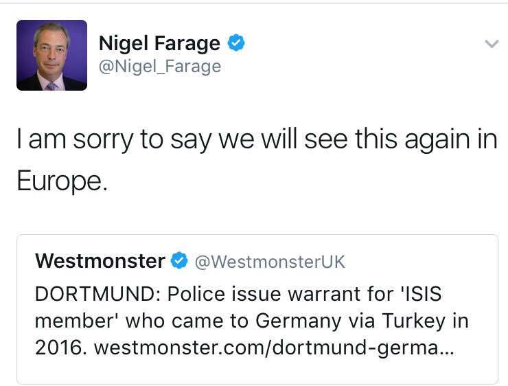 Nigel Farage is a serious political commentator and it's only right we see more of him on TV