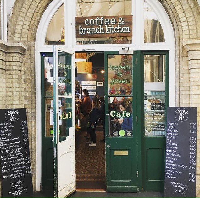 Brown & Green London's best coffee shops