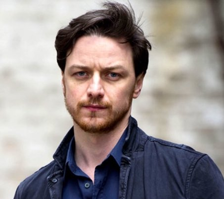 He\s not on message but happy 38th birthday to James McAvoy anyway because he really is pretty awesome