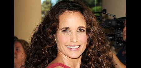 "Happy Birthday to actress and model Rosalie Anderson ""Andie\"" MacDowell (born April 21, 1958)."