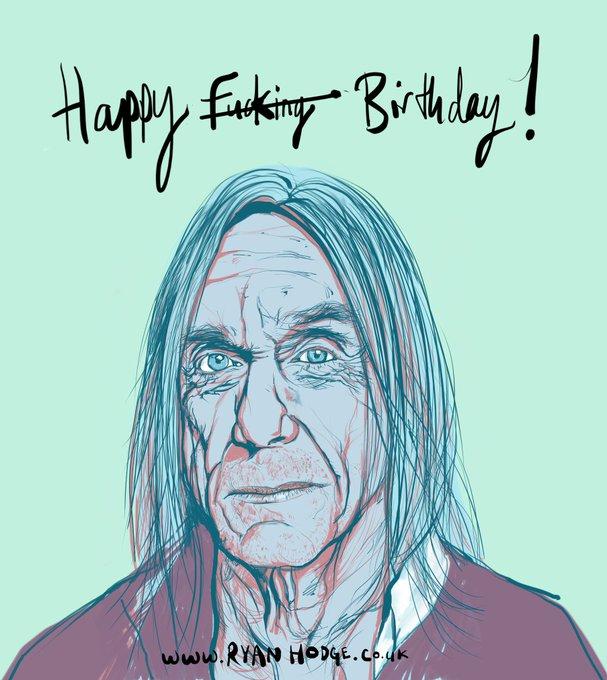 Happy birthday Iggy!