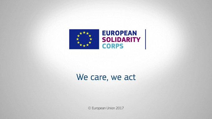 La 1ère membre du Corps européen de solidarité est française. Pour la rejoindre, ainsi que 27 000 jeunes européens 👉 https://t.co/EXtvaWOuJm