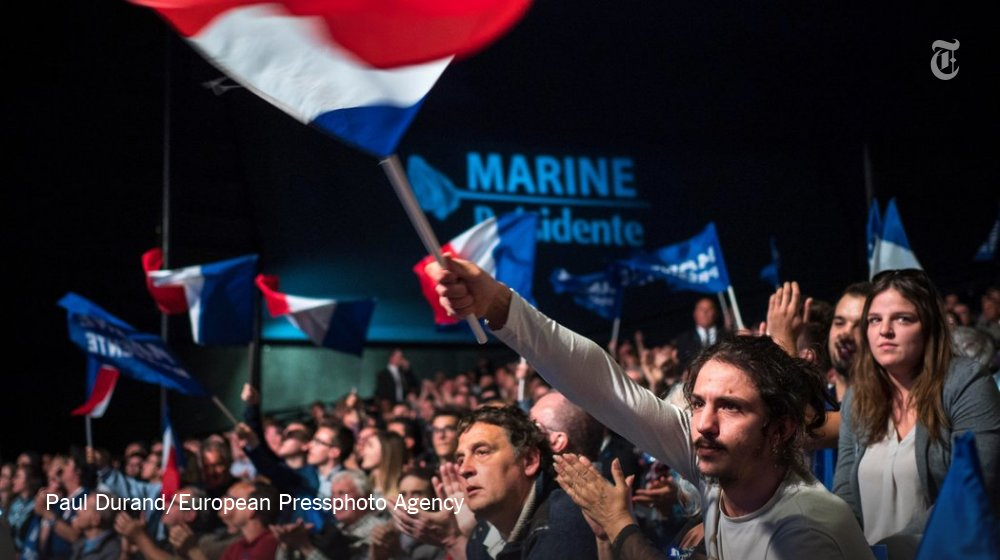 Opinion: 'The prospect of a Le Pen presidency upsets a kind of political positivism' https://t.co/1ggvS1ewVn https://t.co/i6r34LrceF