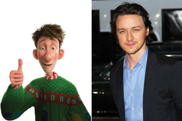 Happy 38th Birthday to James McAvoy! The voice of Arthur in Arthur Christmas.