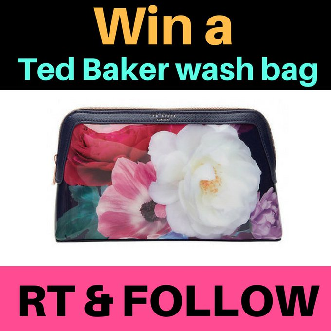 FreebieFriday: WIN a Ted Baker wash bag in this competiton F+RT ExpertHomeTips