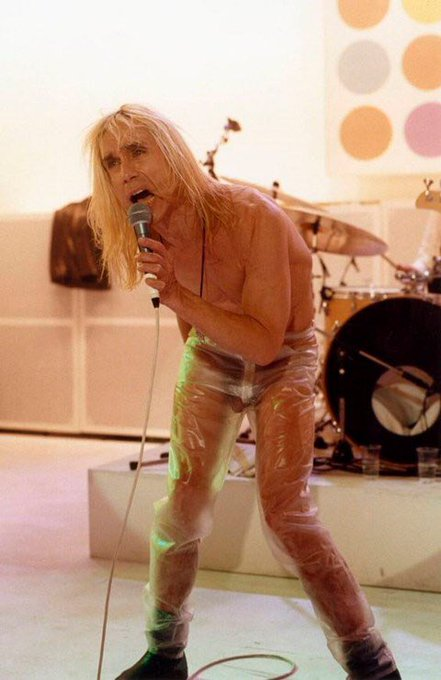 Happy birthday, Iggy Pop. Show us your cock!