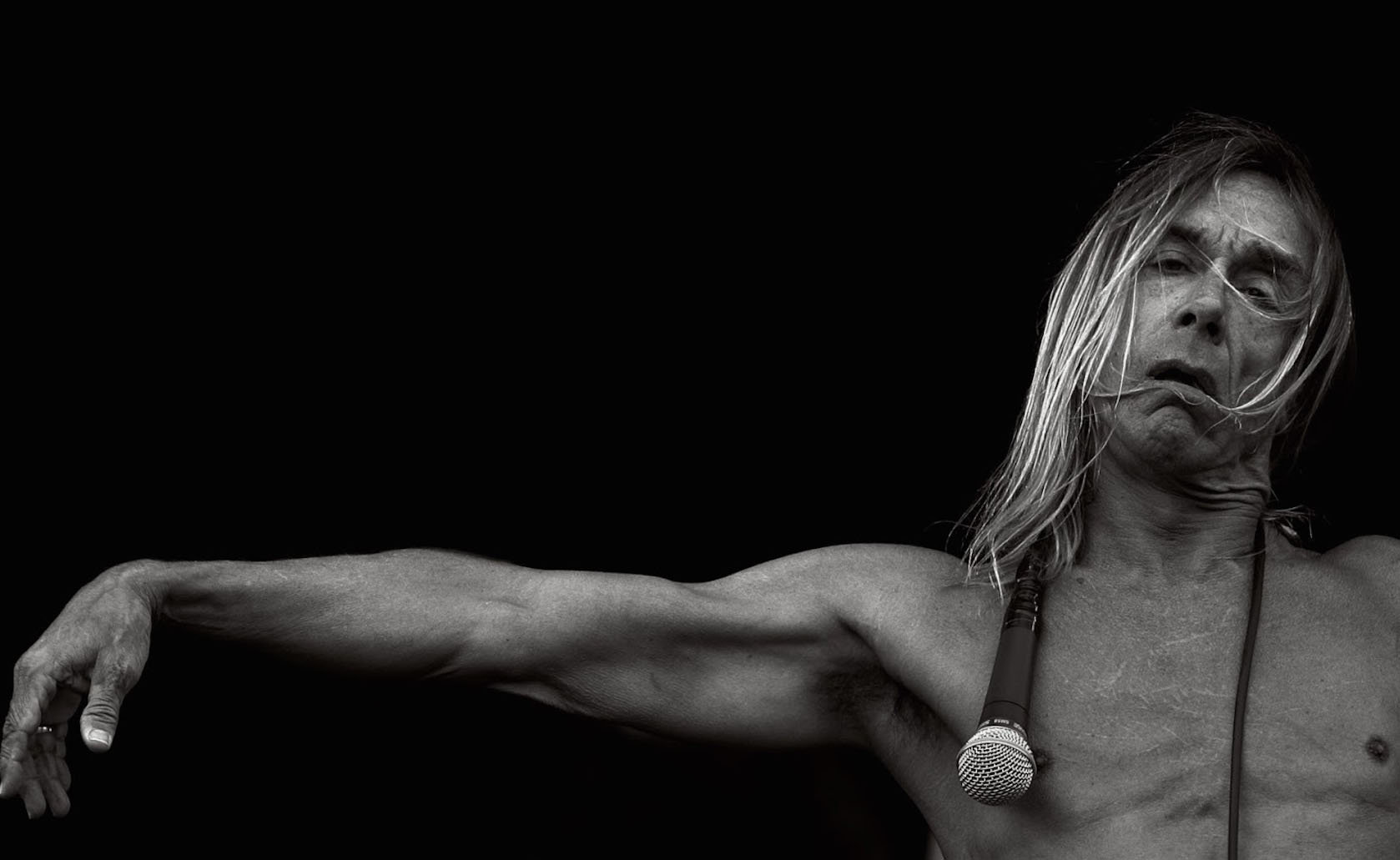 Happy birthday to king Iggy Pop. Make sure you catch his birthday show tonight on