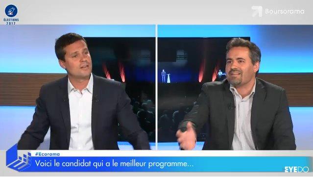 'Le programme le plus favorable aux petites entreprises est celui de Marine Le Pen' @sebastienlaye #Ecorama #Presidentielle2017 #Lepen