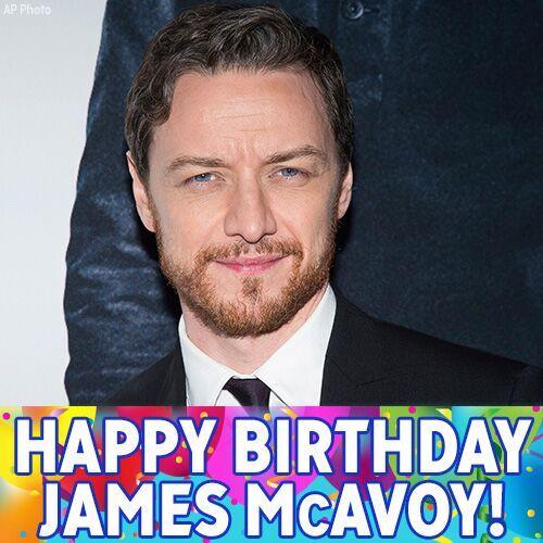 "Happy Birthday to \""X-men\"" star James McAvoy!"
