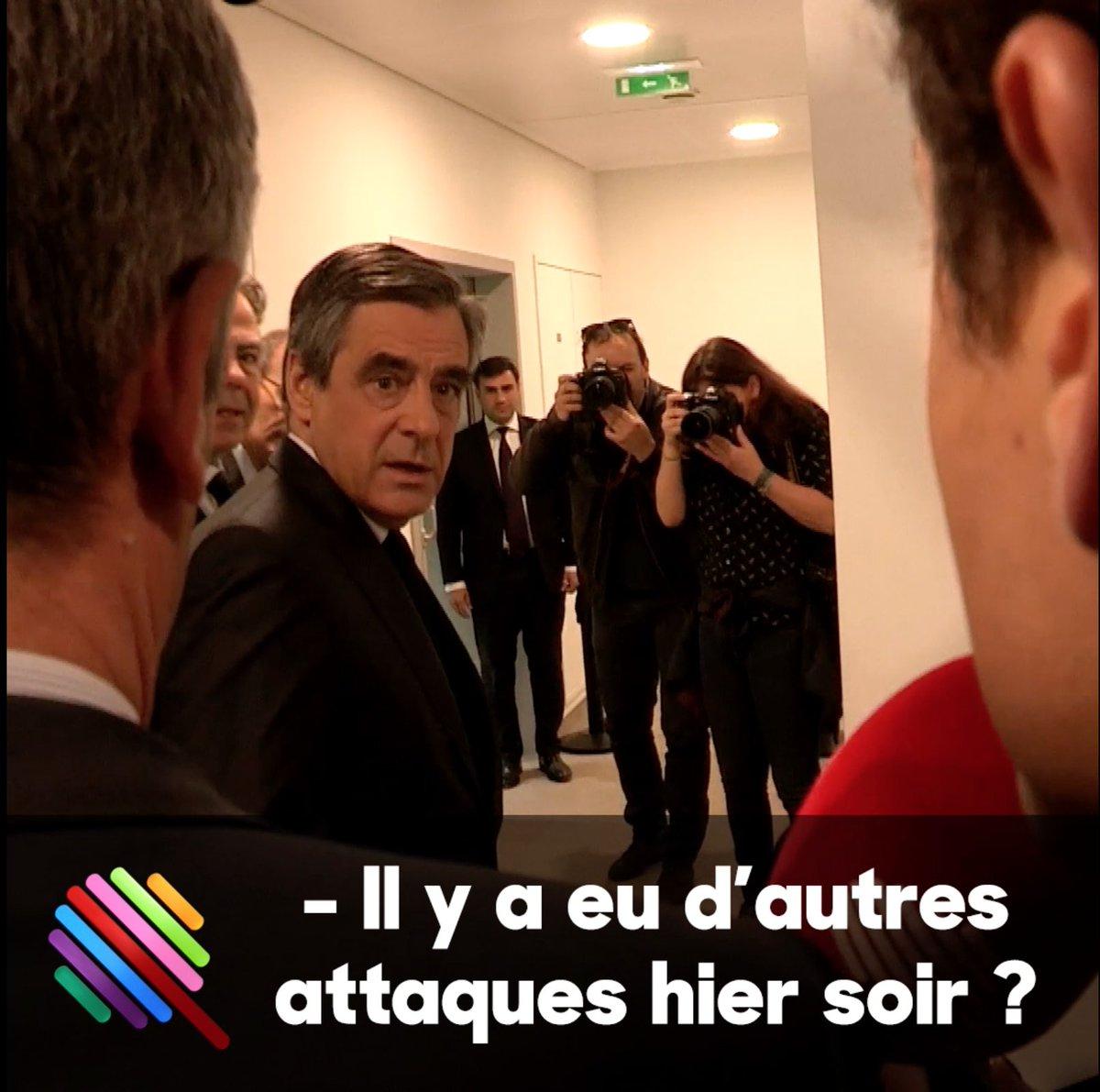 Selon #Fillon, des rapports de police indiquent d'autres attaques à Paris cette nuit.   https://t.co/ahVaCsltIS #ChampsElysees