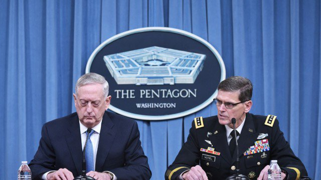 NEW Pentagon experiences communications breakdown
