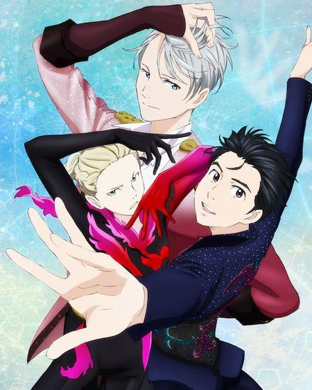 5/31発売の『ユーリ!!! on ICE』公式ファンブック『GO YURI GO!!!』の表紙イラストを公開!こちらを