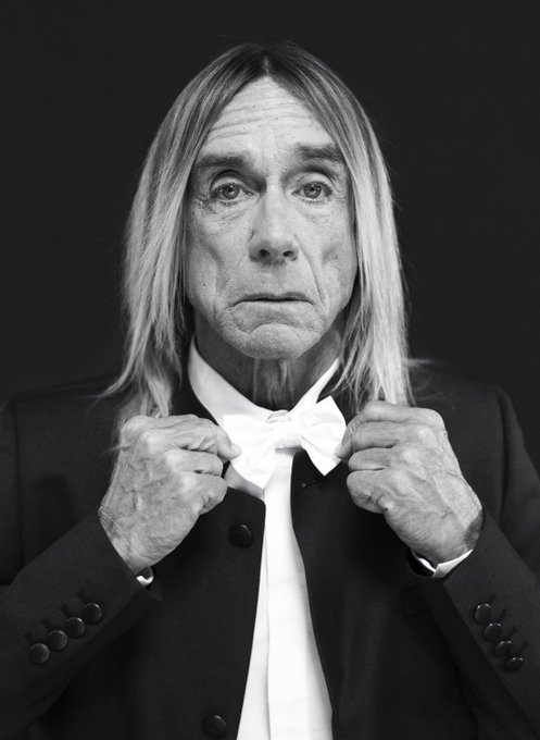 Happy 70th Birthday to the absolute legend, Iggy Pop! <3