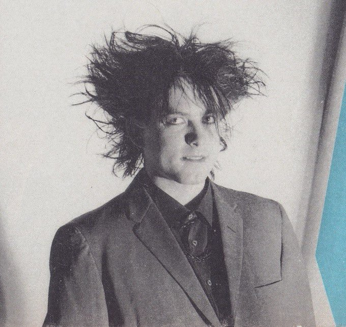 Happy birthday as well to Robert Smith