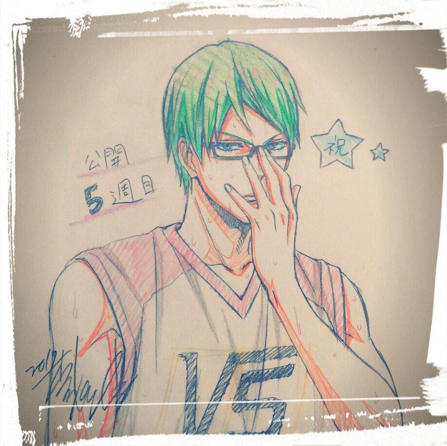 遅くなりましたが劇場版「黒子のバスケ」公開5週目です。緑間真太郎さん。