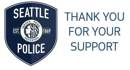 Yesterday was a difficult day for SPD. We are truly grateful for the outpouring of support and well wishes we've received.