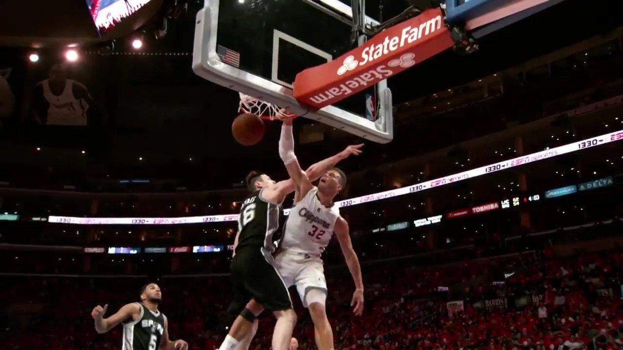 Chris Paul & Blake Griffin.. inspired by John Stockton & Karl Malone!  @LAClippers/@UtahJazz Game 3: 10pm/et ESPN2 https://t.co/1YaXinBXK1