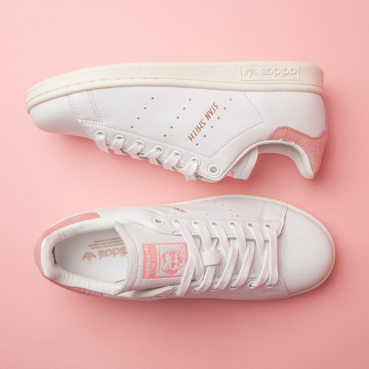 fd1023f3784 adidas stan smith gold pink