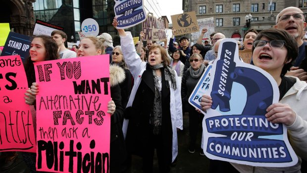 Science hits back: Anti-Trump protest set to draw thousands