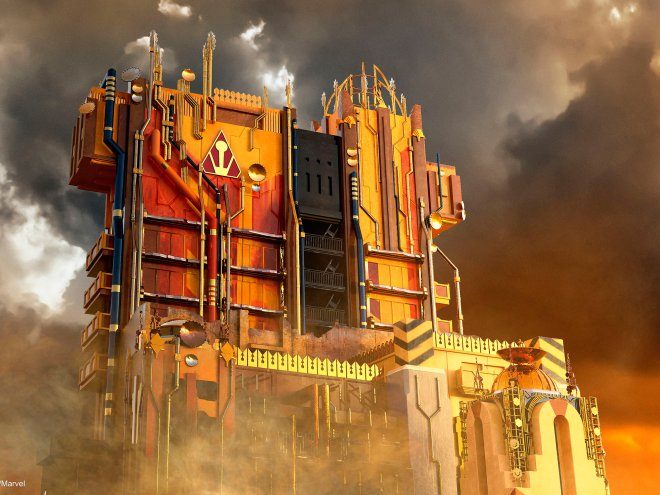 Go behind the scenes of Disney's new GuardiansOfTheGalaxy ride: