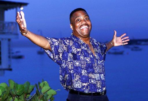 Singer Cuba Gooding Sr.