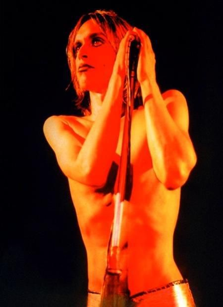 Happy 70th birthday to Iggy Pop. Photo by Mick Rock, 1973.