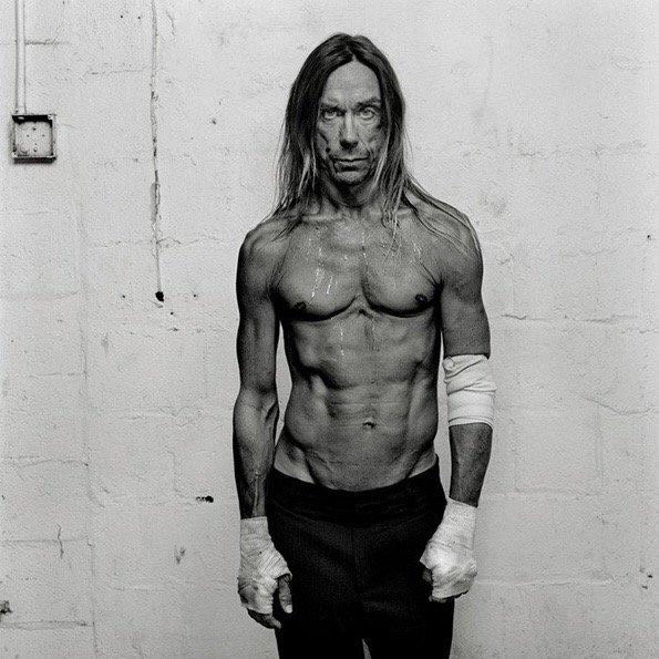 A very happy 70th birthday to the one and only Iggy Pop! (This amazing photo is of course by Olaf Heine) to both