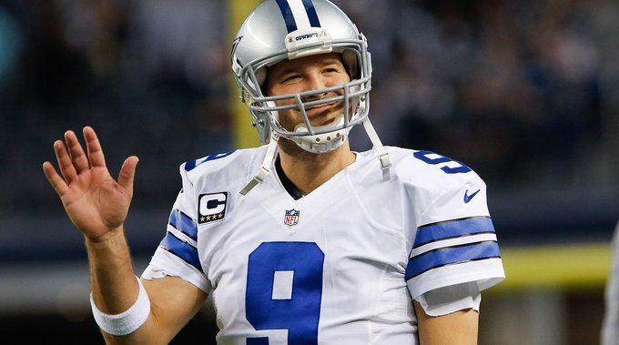 Happy 37th Birthday to the newly retired Tony Romo!