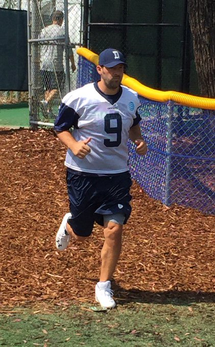 Happy birthday, Tony Romo. Sorry, again, about my poor photography skills