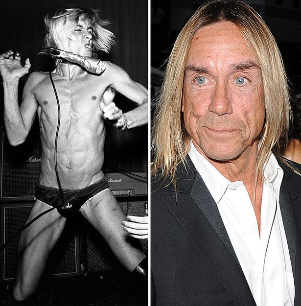 Iggy Pop. 70 yrs today. Happy birthday.