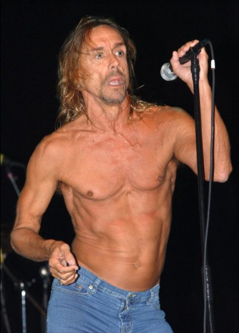 Happy 70th birthday to my good friend Iggy Pop