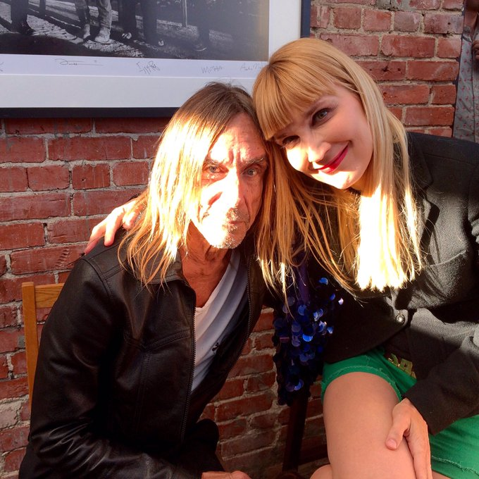 Happy 70th bday to James Newell Osterberg aka Mr. Iggy Pop, born Apr 21, 1947.