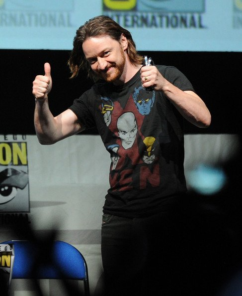 Happy Birthday (actual Scottish prince) James McAvoy