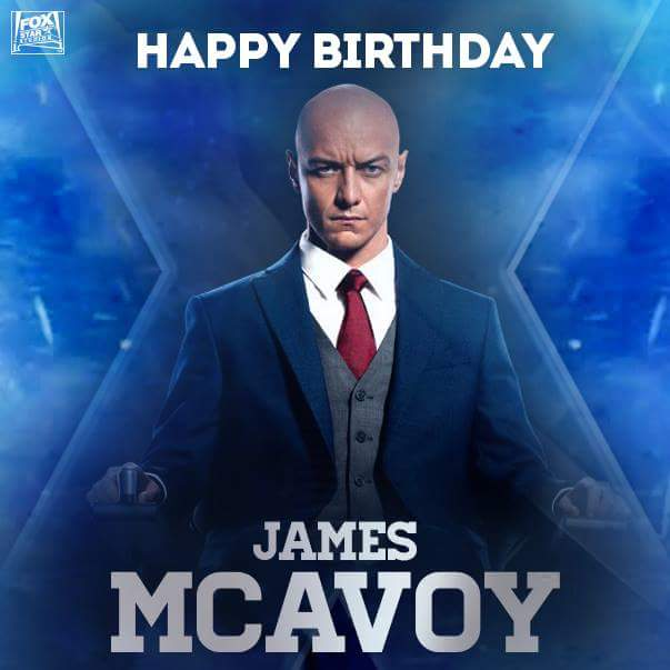 Happy 38th Birthday James Mcavoy