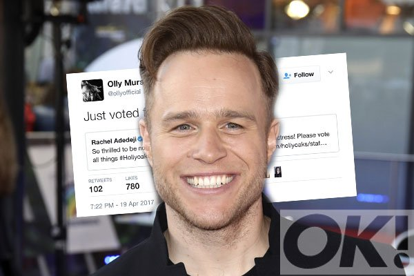 Olly Murs has offered up his support to one of his former X factor pals