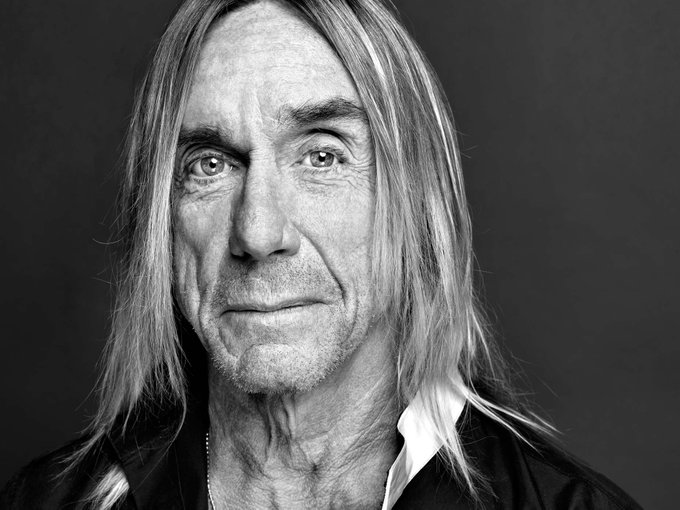 Happy birthday to Rock and Roll Hall of Famer, Iggy Pop!