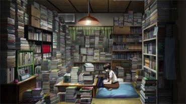 あとこんなイメージでもある。一人暮らし文香さんの部屋。(*犬とハサミは使いようより)