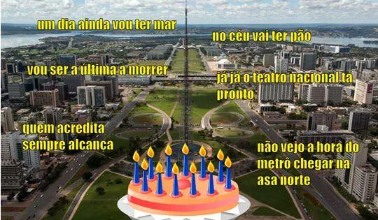 Parabéns Brasília