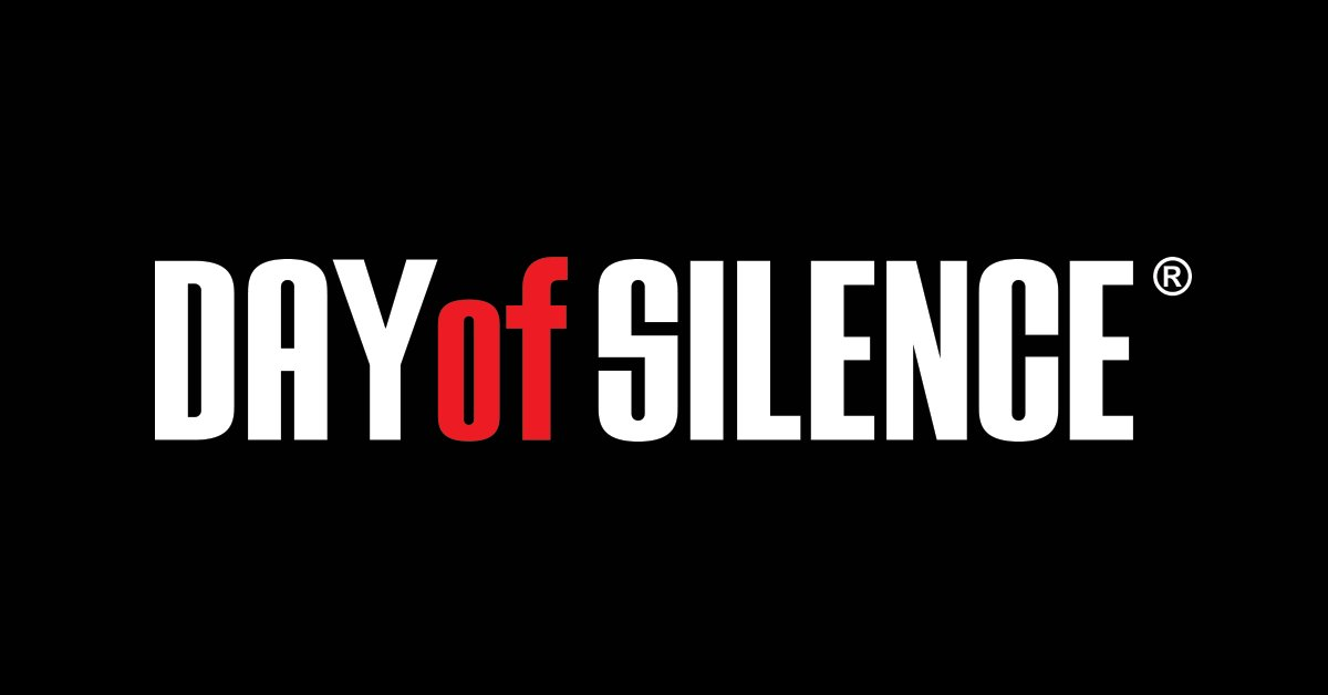 Sia stands with #LGBTQ students 🌈 #DayofSilence - Team Sia