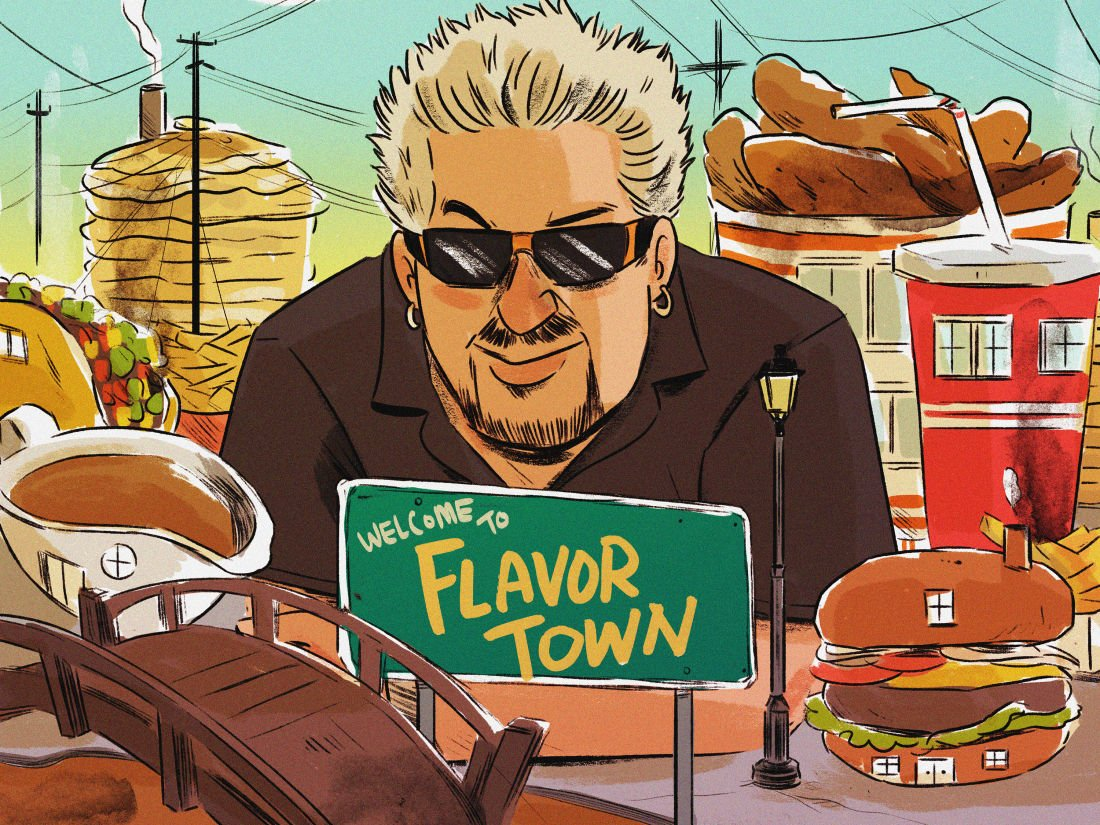 To understand the essence of @GuyFieri, you have to speak his language: https://t.co/nkLUEvZABy https://t.co/o6bjzJoTYQ