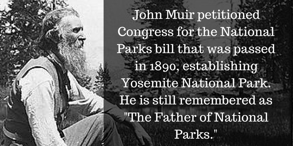#JohnMuirDay