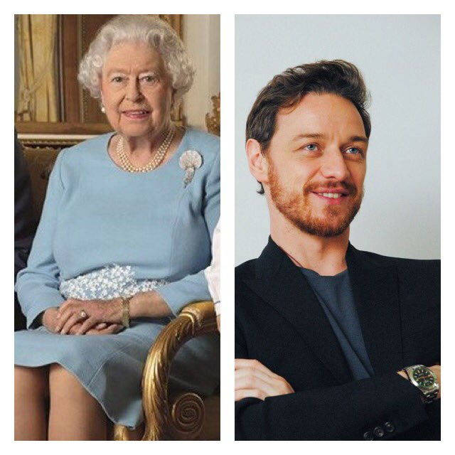 HAPPY BIRTHDAY to Her Majesty The Queen and actor James Mcavoy. Have a great day!!
