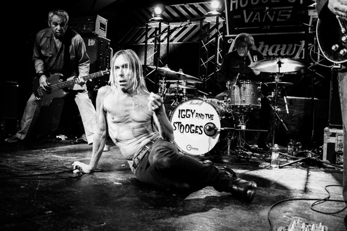 "Happy birthday to ""Wild Child\"" Iggy Pop. We\re all Stooges for the day."